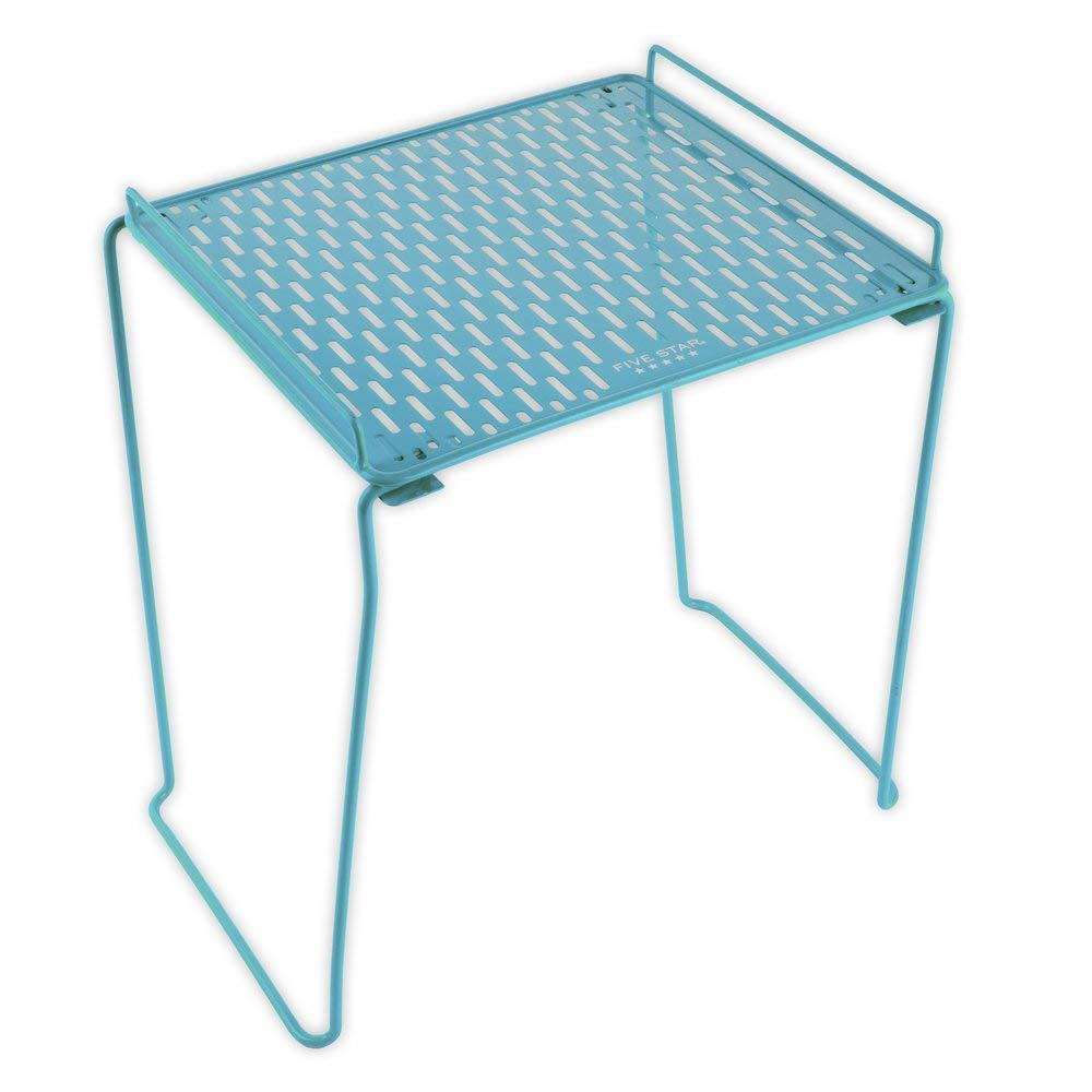 Five Star Locker Accessories, Locker Shelf, Extra Tall, Holds up to 100 pounds. Fits 12 inches Width Lockers, Teal (73325) by Five Star
