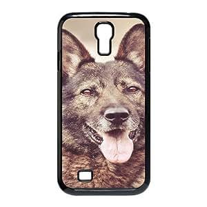 Dog Case For Samsung Galaxy S4 Black Nuktoe787213