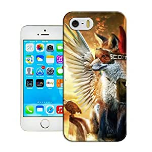 LarryToliver Deluxe Style iphone 5/5s Hard Case Cover for Customizable Illustration art
