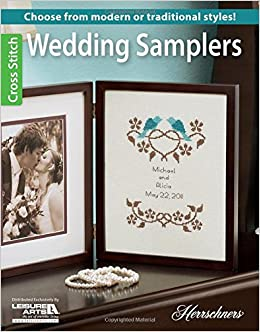 wedding samplers choose from modern or traditional cross stitch styles