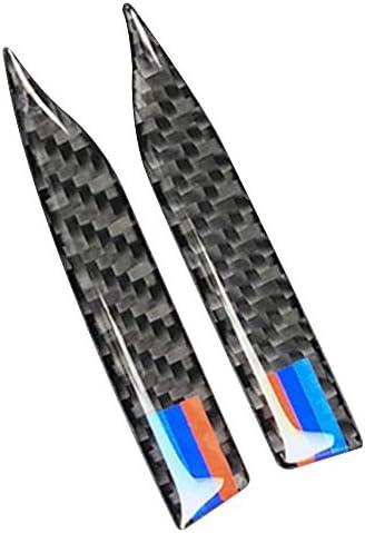 Carbon Fiber Rearview Mirror Anti-Rub Strips Protector for BWM E90 E60 F30 F34 F10 F20 x1 x3 x4 x5 x6 Car Anti-Collision Strip