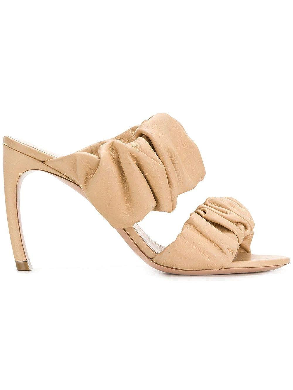 - NICHOLAS KIRKWOOD Women's 909A59NL11M27 Beige Leather Sandals