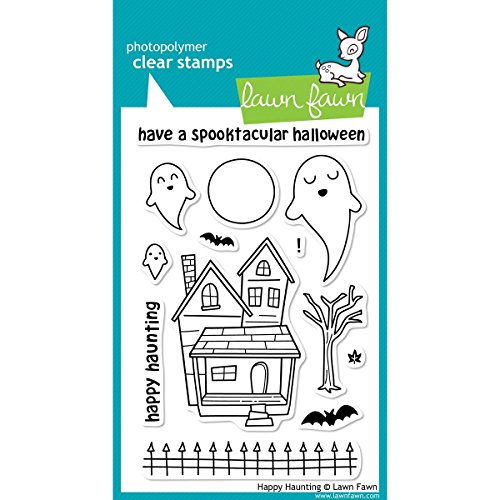 Lawn Fawn - Clear Acrylic Stamps - Halloween