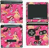 Princess Friends Ariel Cinderella Belle Jasmine Dance Pink Video Game Vinyl Decal Skin Sticker Cover for Nintendo GBA SP Gameboy Advance System