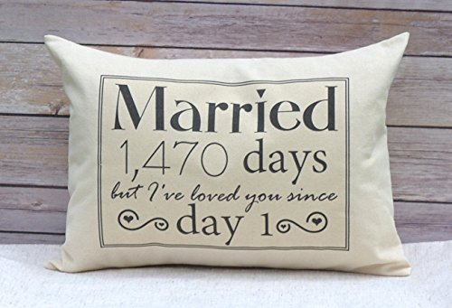 Married for XXXX days, but I have loved you since day one. If you want to order a