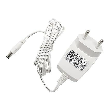 4 vwin Fuente 6 V DC 500 mA red Conector 3 W adaptador para alarma con
