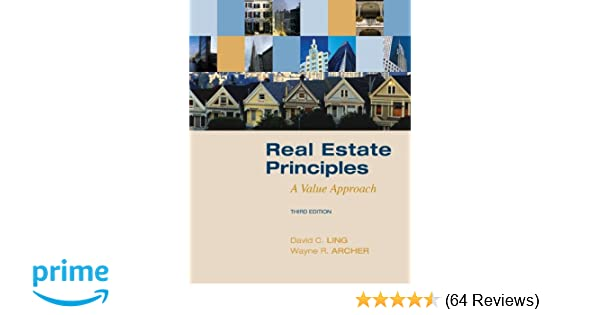 Amazon real estate principles a value approach the mcgraw amazon real estate principles a value approach the mcgraw hillirwin series in finance insurance and real estate 9780073377322 david ling fandeluxe Choice Image