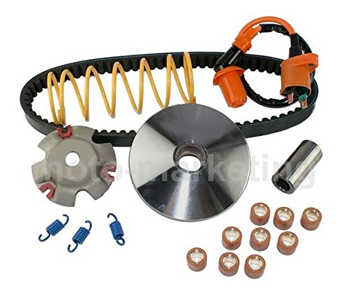 Other TUNING PERFORMANCE VARIATOR KIT SET for LEXMOTO MILANO 125 Unbranded mx1_322582356100_D1