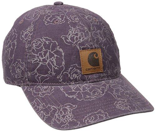 - Carhartt Women's Odessa Printed Cap, Vintage Violet, OFA