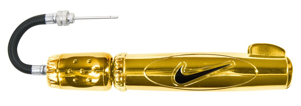 NIKE Elite Ball Pump (Gold/Metallic)