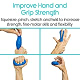Vive Therapy Putty Medium (2-Pack) for Finger, Hand