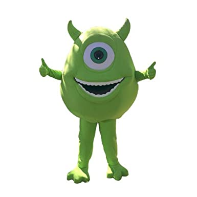 821d8493a827 Amazon.com  KF Mike Wazowski Monster Inc Mascot Costume Adult Top Party  Halloween Cosplay  Clothing
