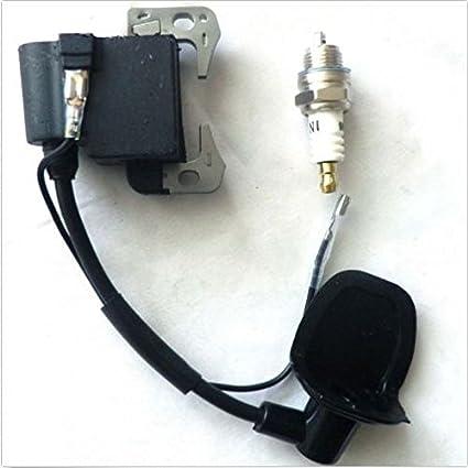 YunShuo, bobina de encendido con bujía 43 cc,47 cc,49 cc, para ...