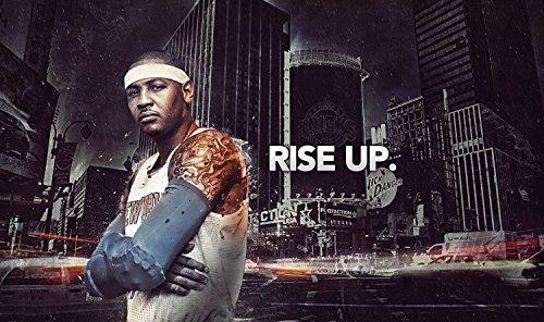 Carmelo Anthony New York Knicks Basketball Limited Print Photo Poster ()