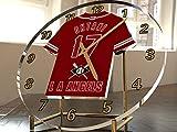 FanPlastic SHOHEI OHTANI 17 Los Angeles Angels Desktop/Table Clock - Major League Baseball Legends Edition !!