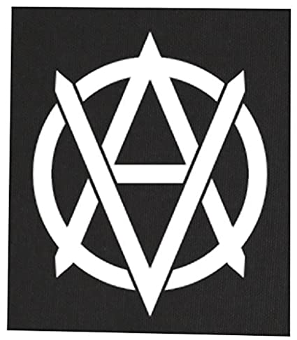 Amazon com: Vegan Anarchist Back Patch - Vegetarian Animal Rights