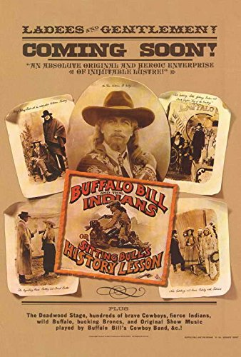 Buffalo Bill & the Indians Poster B 27x40 Paul Newman Geraldine Chaplin Joel Grey