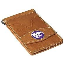 NCAA Kansas State Wildcats Unisex Kansas State Wildcats - Players Wallet - Tancollegiate Wallet, Tan, One Size