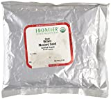 Frontier Bulk Whole Certified Organic Mustard Seed, Brown, 1 lb