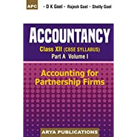 Accountancy Class- XII (Part-A) Vol-I