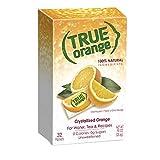 True Citrus - True Orange Crystallized Orange 32 x .8g Packets - 0.91 oz.