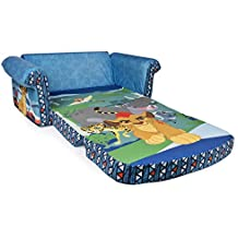 Marshmallow Furniture, Children's 2 in 1 Flip Open Foam Sofa, Disney Junior The Lion Guard, by Spin Master