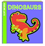 Soft Shapes: Dinosaurs (Baby's First Book + Puzzle), Ikids Staff, 1601690436