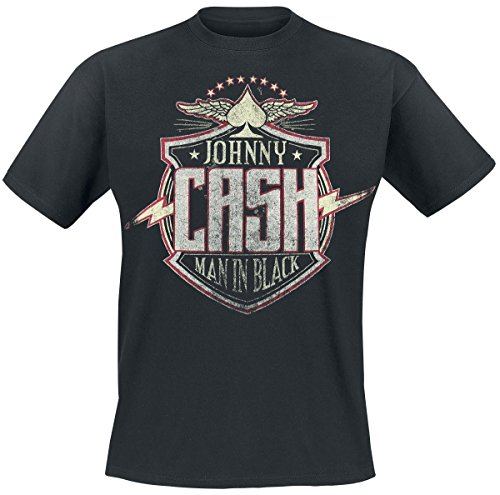 Johnny Cash - Cash Bolt - T-Shirt - Größe Size S