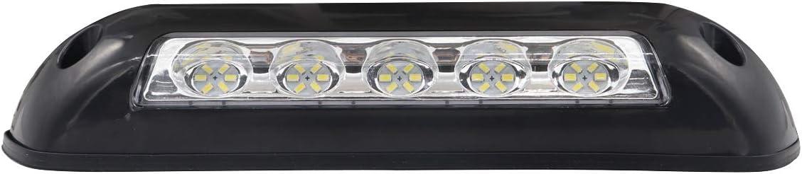 Gloaso RV 12 V CC 2.6 W LED Auvent Lumi/ères Bar Porche Lampe 6000 K Blanc pour Caravane Bateau Marine Camions Motor-Home RV Camping Coquille Blanche
