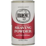 Magic Shaving Powder, Extra Strength, 5-Ounce Cans (Pack of 12) by Magic