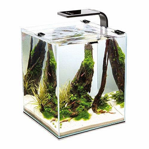 Aquael Shrimp Set Smart 2 10L 19L 30L Nano Aquarium Cube für Garnelen Weiß) EL114956