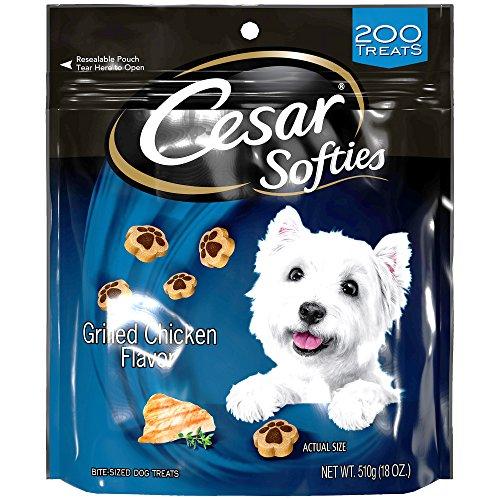 Cesar Softies Grilled Chicken Flavor Dog Treats - 18 Oz. - Grilled Chicken Flavor