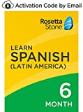 Rosetta Stone: Learn Spanish (Latin America) for 6 months on iOS, Android, PC, and Mac [Activation Code by Email]