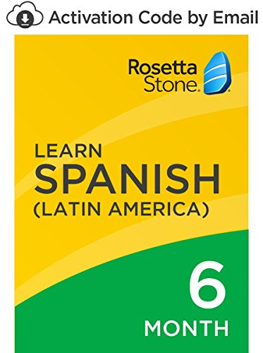Rosetta Stone: Learn Spanish (Latin America) for 6 months on iOS, Android, PC, and Mac [Activation Code by Email]...