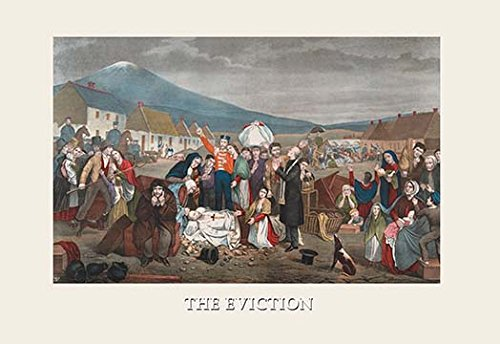 Buyenlarge the eviction vintage advertisement