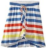Amy Byer Girls 7-16 Hi Low Stripe Skirt, Multi, Medium image