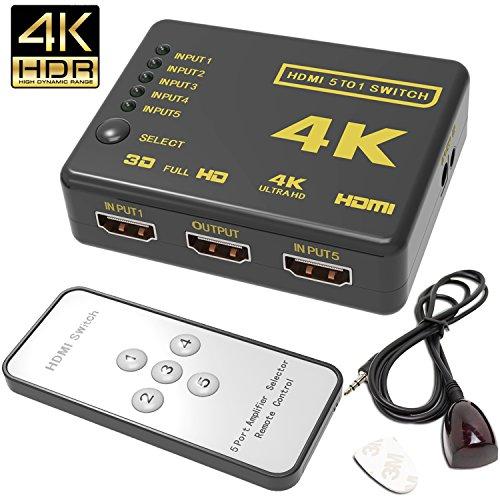 Hhusali Intelligent 5 Port Supports HD1080p