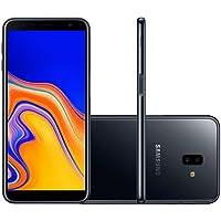 "Smartphone Samsung Galaxy J6 Plus Preto 32GB 3GB RAM Tela infinita de 6"" Dual Câmera 13MP 5MP"