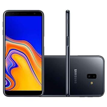 70a3d52c46 Smartphone Samsung Galaxy J6 Plus Preto 32GB 3GB RAM Tela infinita de  6 quot  Dual Câmera