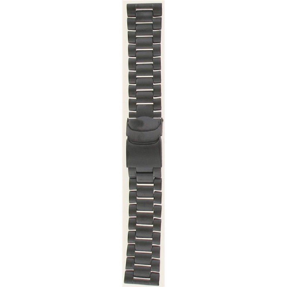 Luminox WatchBand For: 8400;3152;3182 Series. Black PVD Steel Bracelet.23mm