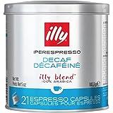illy Coffee, iperEspresso Capsule, Decaffeinated Medium Roast Espresso Pod, 100% Arabica Bean Signature Italian Blend, Premiu