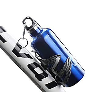 OUTAD Bicycle Water Bottle Cages Carbon Fiber Drink Water Bottle Holder for Outdoor Bike Cycling Mountain Sports Cycling Bicycle Outdoor