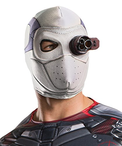 Deadshot Costume For Kids (UHC Men's Dc Comics Suicide Squad Deadshot Overhead Fabric Mask)