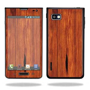 Viesrod - Protective Vinyl Skin Decal Cover for LG Optimus F3 T-Mobile Sticker Skins Knotty Wood