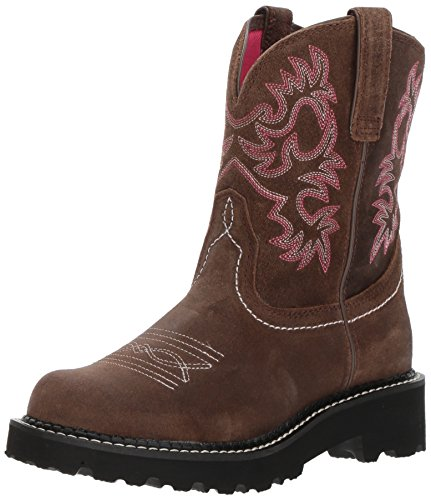 Ariat Women's Fatbaby Collection Western Cowboy Boot, Dark Barley, 9 B US