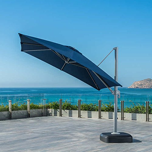 Portofino 10 foot Sunbrella Resort Umbrella BLUE