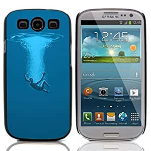 Graphic4You Fall Instantly In Water Design Hard Case Cover for Samsung Galaxy S3 S III