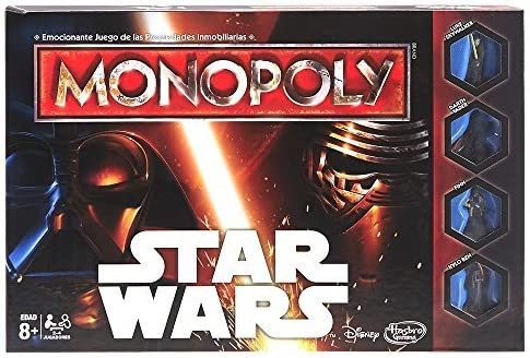 Monopoly Star Wars, Multicolor (Hasbro Spain B0324105): Amazon.es: Juguetes y juegos