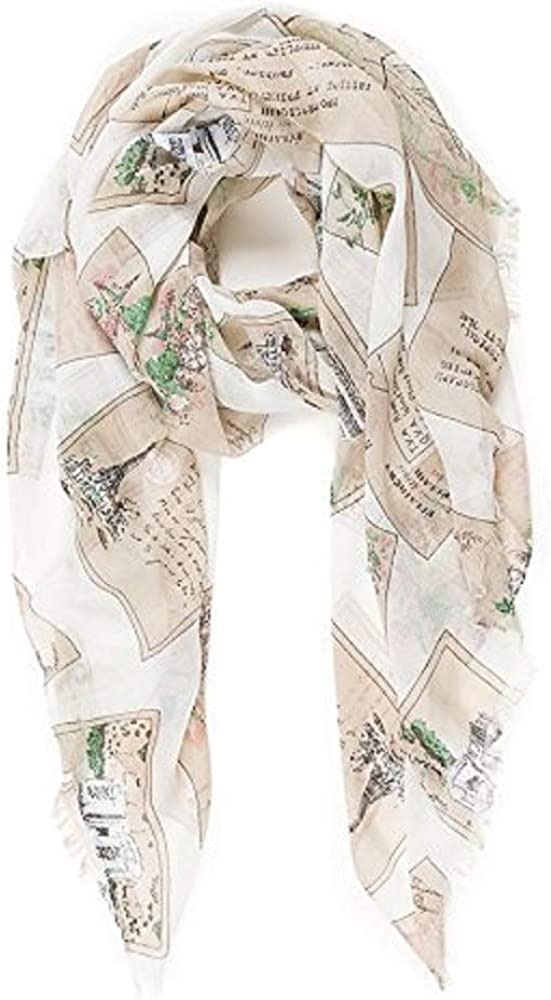Scarf for Women Lightweight Geometric Fashion Spring Summer Scarves Shawl Wraps