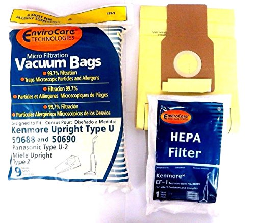 Compare Price To Ultra Care Kenmore U Vacuum Bags